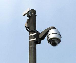 マンションでのトラブルに防犯カメラ