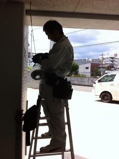 防犯カメラ 名古屋 中川区のマンション