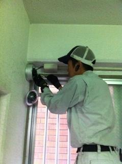 名古屋市守山区で防犯カメラの設置