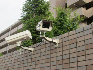 老人ホームの防犯カメラ