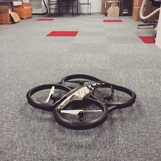 工場設備を空撮防犯カメラで管理監視(実験一回目) 名古屋防犯カメラセンター