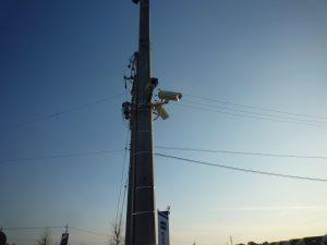 電柱の防犯カメラ2