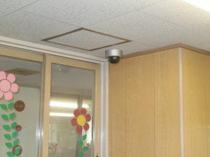 ある施設の防犯カメラ