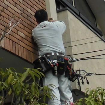 名古屋市内個人宅への防犯カメラ設置