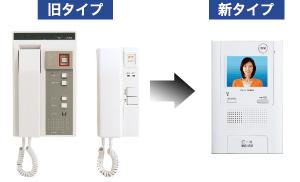 インターホンオートロックシステム取替工事 名古屋、愛知、岐阜、三重のマンション
