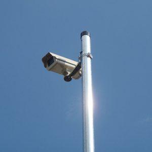 豊田市防犯カメラ助成金を使った街頭防犯カメラ