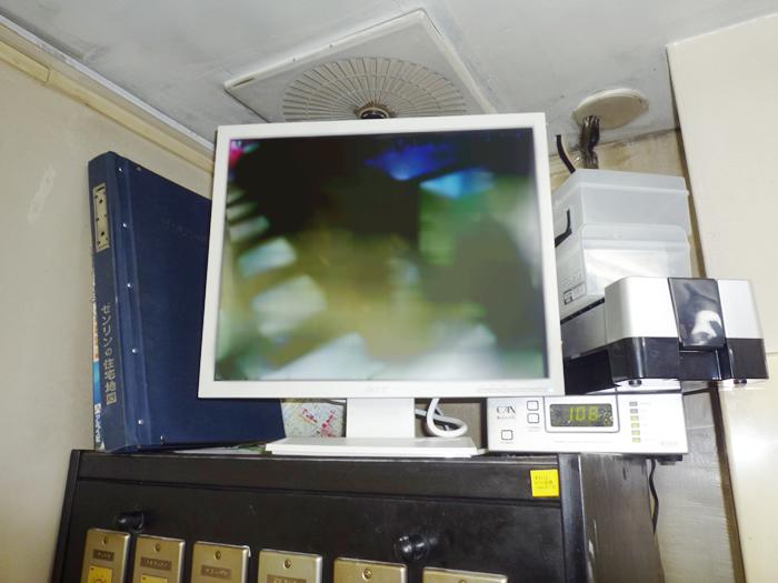 名古屋のファーストフード店の防犯カメラ